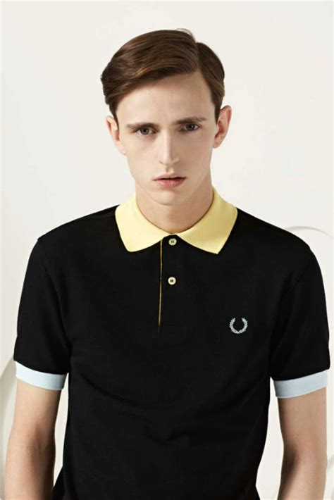 Kaos Fred Perry Collection fred perry laurel wreath summer 2013 lookbook flagig