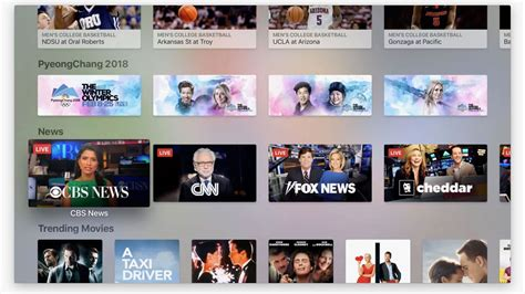apple news apple adds live news section to its tv app flatpanelshd