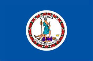 virginia state colors virginia va state flag list of 50 state flages of the