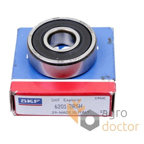 6201 2rsh skf groove bearing oem 9808450 for fiat mitsubishi combine harvester