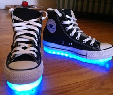 light up shoes for black