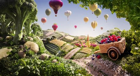 Landscape Photos Made From Food Food Landscapes By Carl Warner 187 Gagdaily News