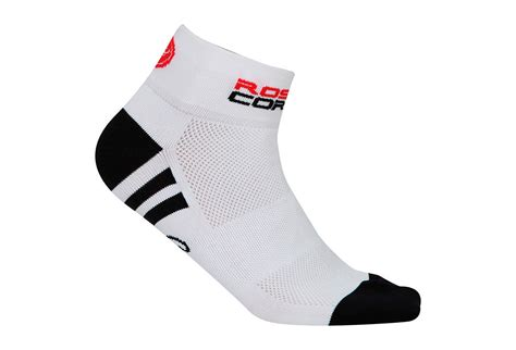 Castelli Sock Rosa Corsa castelli rosa corsa pair of low socks white alltricks