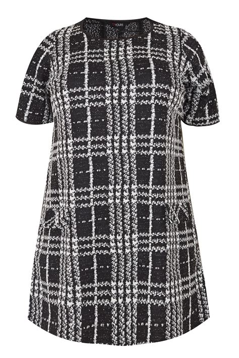 boat show voucher codes black jacquard check tunic dress plus size 16 to 40