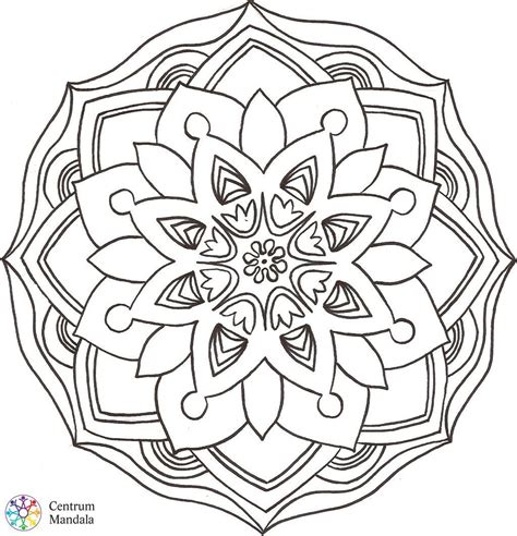 creative beautiful coloring book coloring books downloadable mandalas centrum mandala