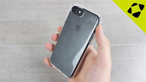 speck presidio iphone  clear case review hands  youtube