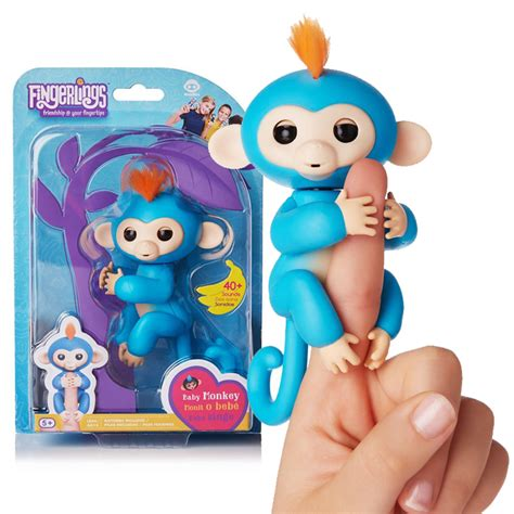 Mainan Interaktif Fingerlings Monkey Smart Blue new products fashionable shoes bags clothes everything beautiful all cared