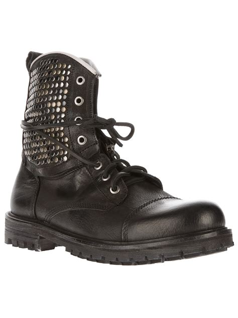 studded boots for htc trading company studded boots in black for