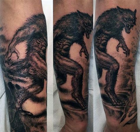 werewolf tattoo designs for men awesome tattoos www pixshark images