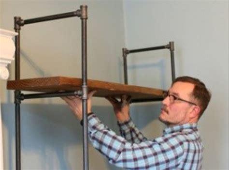 desain lu dari pipa yuk buat sendiri rak pipa besi ala industrial rumah dan