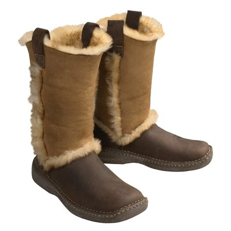 mens shearling boots born polar shearling boots for 77887 save 55