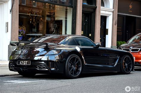 Black Series by Mercedes Renntech Sls Amg Black Series 15 April