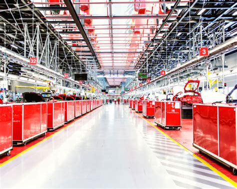 maranello italy ferrari s factory in maranello italy an inside look