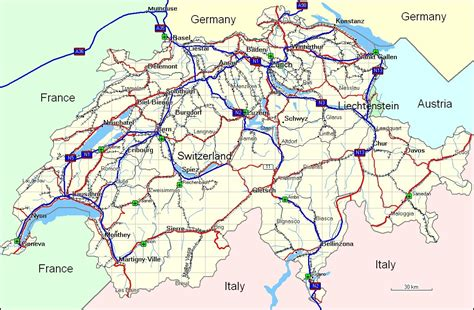 map of southern germany and switzerland map of southern germany and switzerland 12 geography