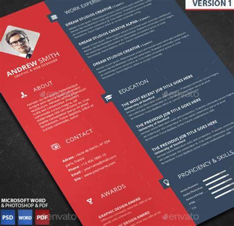 plantilla word pdf y psd para cv curriculumsvitae net