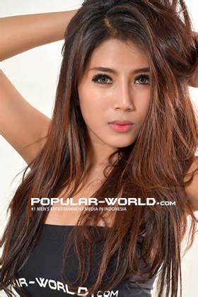 foto destiara talita artis model cantik majalah popular
