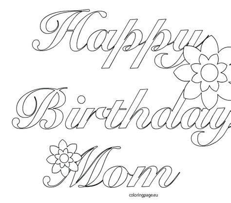 brithday card coloring page template printable coloring birthday cards for