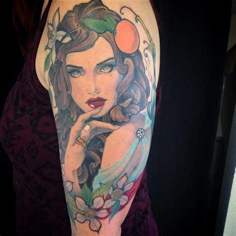 orange blossom tattoo orange blossom by jeff norton tattoonow