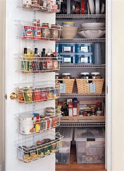 Pantry Closet Storage by 31 Kitchen Pantry Organization Ideas Storage Solutions