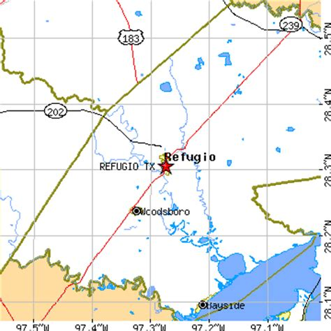 map of refugio texas refugio texas tx population data races housing economy