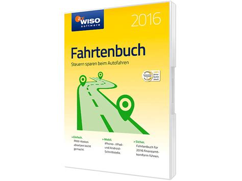 Kfz Versicherung Vergleich Wiso by Wiso Software Fahrtenbuch 2016
