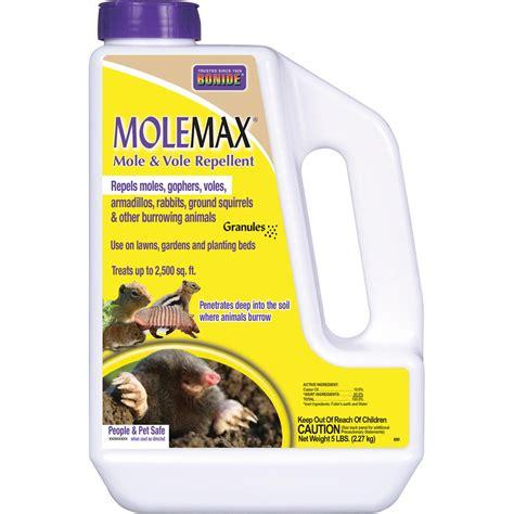Patio Blinds At Home Depot Bonide Molemax 80 Oz Mole And Vole Repellent 6914 The