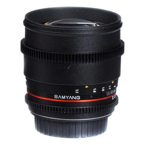 Lensa Samyang 85mm F 1 4 For Canon jual samyang 85mm t1 5 vdslr as if umc ii for nikon