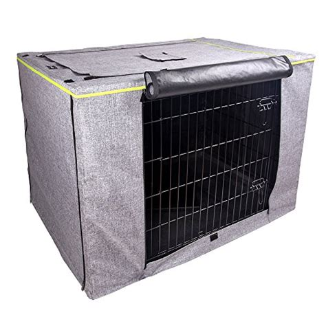 36 inch crate petsfit crate cover for 36 inches wire crates size 4000 two doors grey price