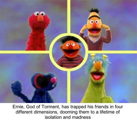 Sesame Street Memes - people are making dark sesame street memes cuz nothing can