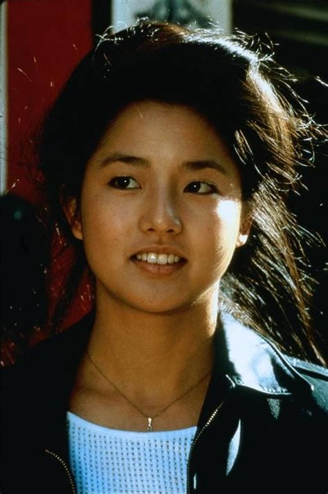 karate kid chinese girl tamlyn tomita as kumiko daniel s girlfriend in karate kid