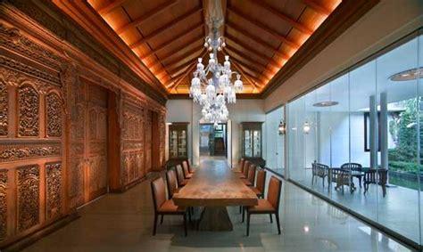 desain interior rumah tradisional  eksotis  menawan arsitag