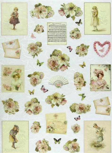 decoupage with paper details about ricepaper decoupage paper scrapbooking sheet