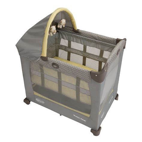 Baby Travel Cribs by Graco Travel Lite Crib With Stages Peyton