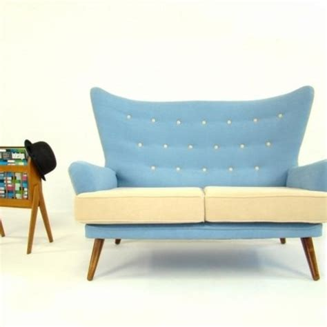 Retro Sofas And Chairs by 1950 S Sofa Vintage 1950 S G Plan Wingback Sofa Folksy