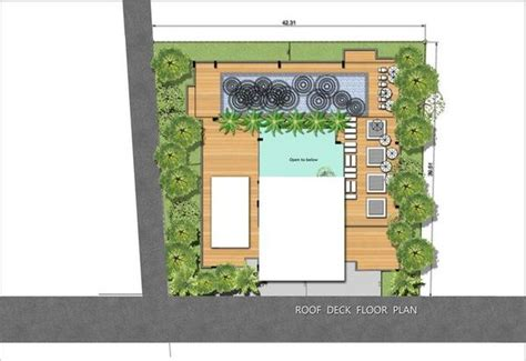 roof garden floor plan gallery abatalay condominium ocean view condos for