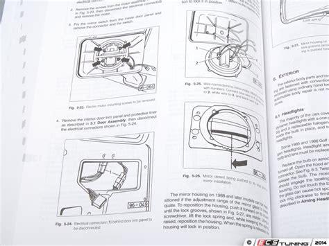 service and repair manuals 1992 volkswagen gti parking system bentley vg92 vw mkii gti golf jetta 85 92 service manual