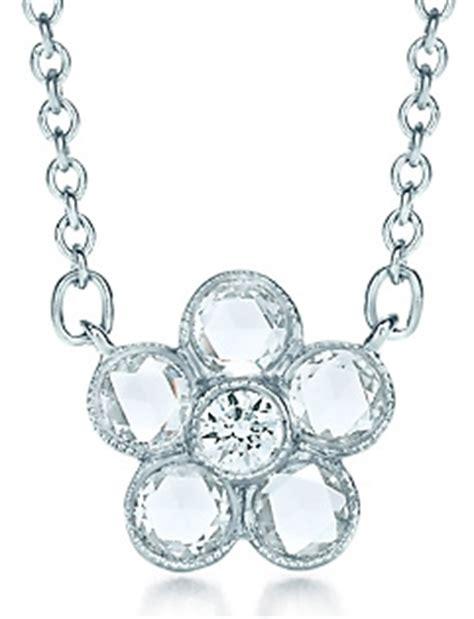 10 Garden Flower Rings Pendants And Earrings garden flower pendant with diamonds 10
