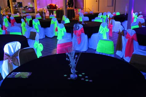 Black Light Decorations by 1000 Images About Cumple 15 Cami On