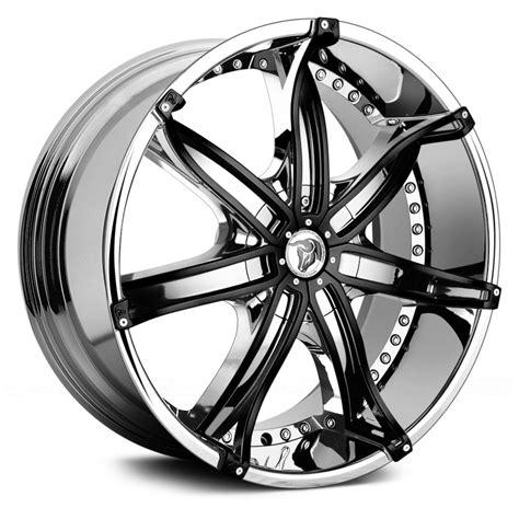 black chrome diablo custom wheels custom wheels chrome wheels chrome