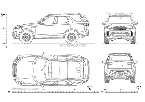 land rover discovery drawing land rover discovery svx car drawing autocad blocks