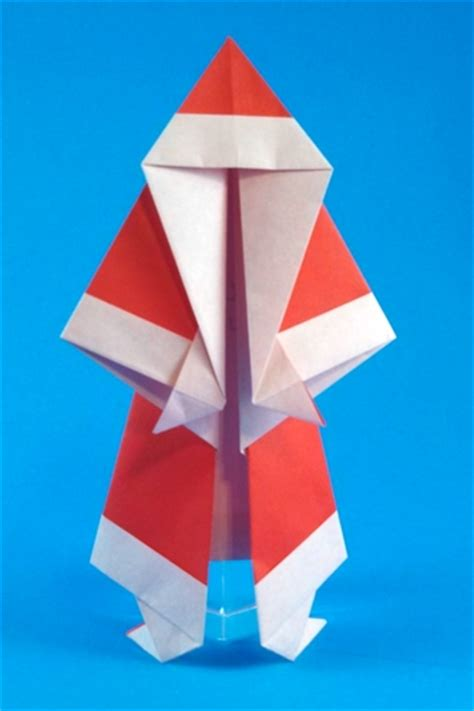 How To Make Santa Claus Origami - origami and santa claus 4 gilad s origami page