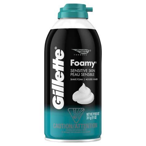 Gillette Foamy gillette foamy shave sensitive skin 11 oz target