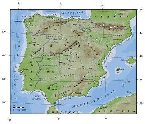atlas de espana y mapa topogr 225 fico de espa 241 a mapas f 237 sicos atlas del mundo