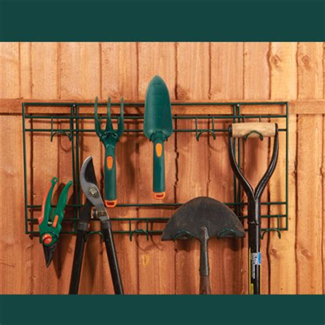 Hang Garden Tools In Garage by Lawn Garden Tools Spade Rack Garage Wall Hanging Storage