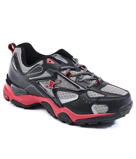 sports shoes sparx buy sparx black sport shoes for snapdeal