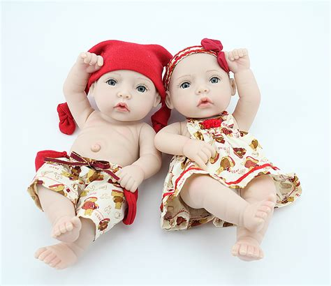 Baby Alive 11 Vinyl Mini Newborn Baby Dolls Boy Boneka Gift toys 11 inches vinyl reborn baby alive doll washing mini boy realistic