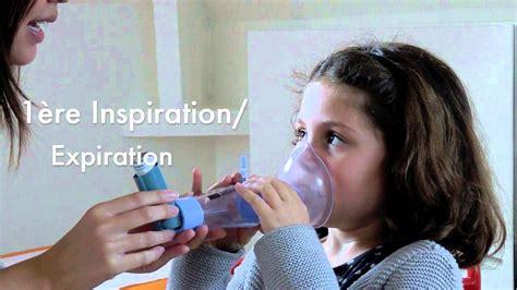 chambre inhalation ventoline asthme comment utiliser une chambre d inhalation comme l