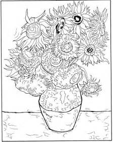 gogh coloring pages n coloring page vincent gogh vincent
