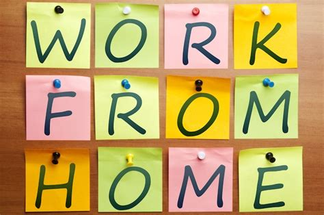 work from home works for most employees