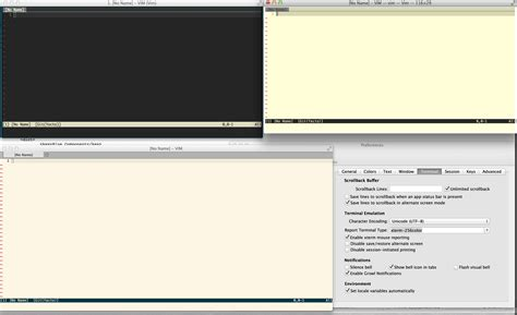 iterm2 color schemes terminal vim iterm2 color issues user